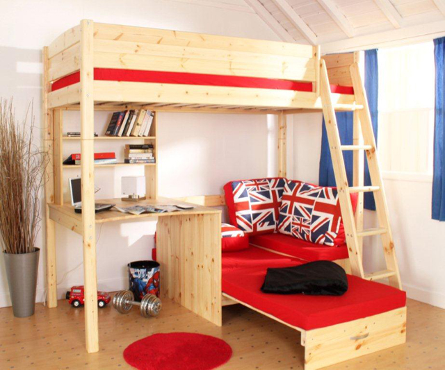 Shorty Bunk Beds With Mattresses Thuka Trendy 29 Jubilee High Sleeper